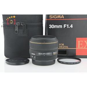 【中古】SIGMA シグマ 30mm f/1.4 EX DC HSM キヤノン用|five-star-camera
