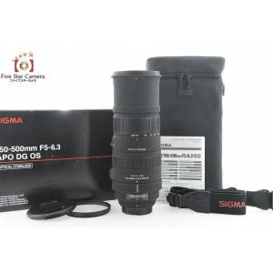 【中古】SIGMA シグマ APO 150-500mm f/5-6.3 DG OS HSM ニコン用|five-star-camera