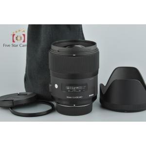 【中古】SIGMA シグマ Art 35mm f/1.4 DG HSM ニコン用