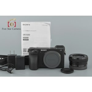【中古】SONY ソニー α6500 ILCE-6500 + E PZ 16-50mm f/3.5-...