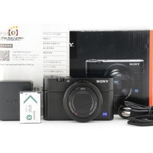 【中古】SONY ソニー Cyber-Shot RX100 III DSC-RX100M3|five-star-camera