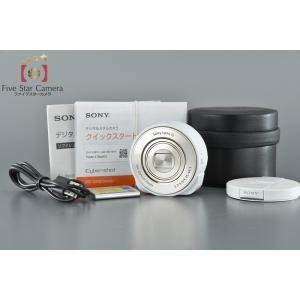 【中古】SONY ソニー Cyber-Shot DSC-QX10 ホワイト レンズスタイルカメラ|five-star-camera