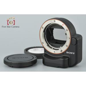【中古】SONY ソニー LA-EA4 マウントアダプター five-star-camera