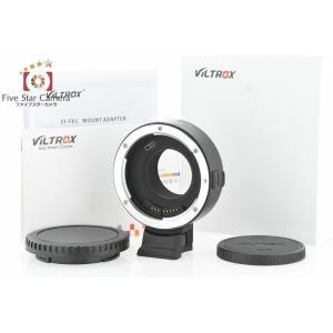 【中古】VILTROX EF-FX1 キヤノンEFレンズ → 富士フイルムXマウントアダプター five-star-camera