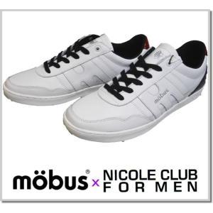 ニコルクラブフォーメン mobus別注スニーカー/ (NICOLE CLUB FOR MEN)