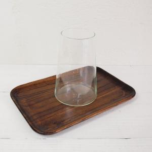 【素材】RECYCLE GLASS 【サイズ】約φ12(BODY)×H18cm  再生ガラスで作られ...