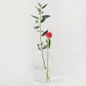 【素材】RECYCLE GLASS 【サイズ】約φ6(BOTTOM)×H10.5cm  再生ガラスで...