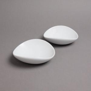 白磁 ペア コロン Mサイズ 白山陶器|fiveandten