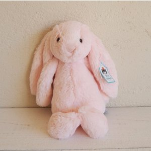 JELLYCAT bashful bunny pink うさぎ ぬいぐるみ うすピンク|fiveandten