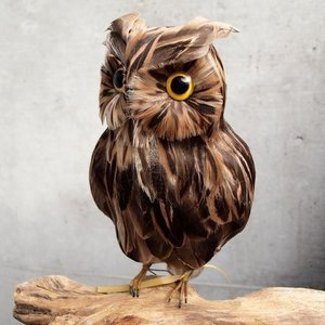 PUEBCO Artificial Birds Owl プエブコ アーティフィシャルバード フクロウ Lサイズ|fiveandten