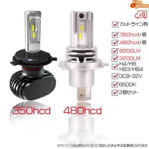 【送料無料】LEDヘッドライト H4 2個セット 車検対応 ...