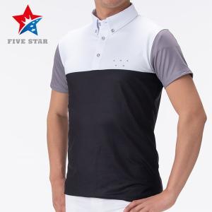FIVESTAR ファイブスター カシオペアロゴカラースキームポロ メンズ ポロシャツ|fivestar2016