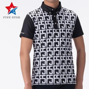 FIVESTAR ファイブスター F5ロゴバックラインポロ メンズ ポロシャツ|fivestar2016