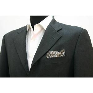 ポケットチーフ 結婚式 ワンタッチ ブランド フィックスポン fixpon メンズ オリジナル ネイビー アート 西陣織 送別 パーティー セット ギフト 贈り物|fixpon
