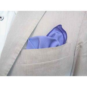 ポケットチーフ 結婚式 ワンタッチ ブランド フィックスポン fixpon メンズ オリジナル パープル 送別 パーティー セット ギフト 贈り物|fixpon