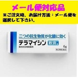 テラマイシン軟膏 6g [第2類医薬品] ジョンソン&ジョンソン メール便対応品|fjdrug