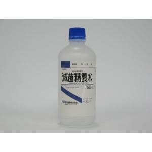 日本薬局方 滅菌精製水 500ml 健栄製薬
