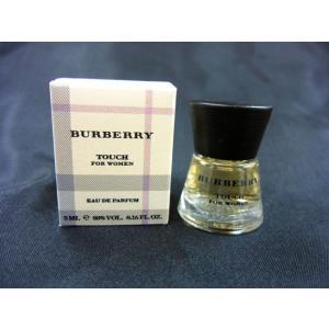 バーバリー bueberry バーバリータッチ フォーウーマン 5ml 香水 fjg3
