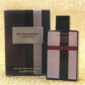 バーバリーBURBERRYバーバリー ロンドン プールオム,BURBERRY LONDON FOR MEN,4.5ml fjg3