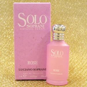ルチアーノ・ソプラーニLUCIANO SOPRANIソロ ローズ,SOLO ROSE,5ml fjg3