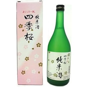 四季桜 純米酒 720ml|fkd-netplaza