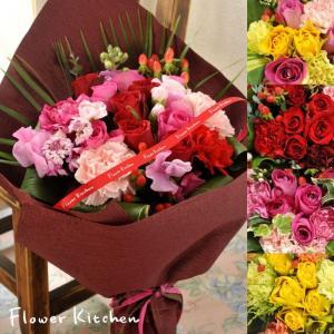 ギフト お祝い 即日発送 花 10本バラの花束ブーケ 生花 誕生日 記念日 プロポーズ フラワー|fkjiyugaoka