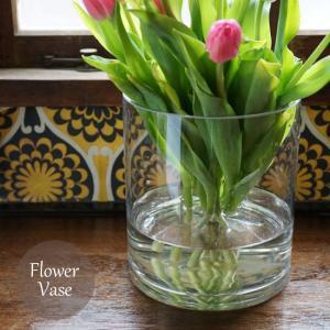 フラワーベース1個 硝子ベース 花瓶 ボブクラフト 円筒ベースS ガラスボトル  FKRSL ボブクラフト812-3円筒ベースS|fkjiyugaoka