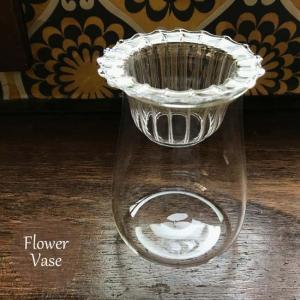 フラワーベース1個 硝子ベース 花瓶  ネストセット 水耕栽培 球根 ガラスボトル  FKRSL ボブクラフト3020|fkjiyugaoka