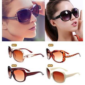 UVカット サングラス レディース 人気 眼鏡 海外セレブ風 国内 小顔効果 デカ ギフト ホワイトデー A027|fkstyle