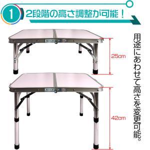 ローテーブル 折りたたみ式 ミニ 60cmx4...の詳細画像1