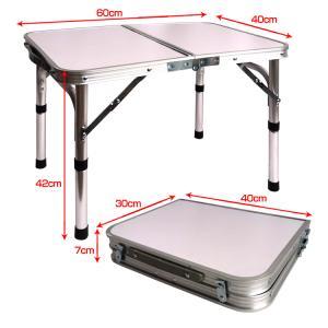 ローテーブル 折りたたみ式 ミニ 60cmx4...の詳細画像5