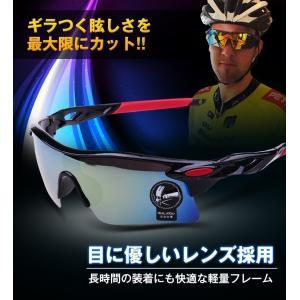 軽量 スポーツサングラス 釣り バイク 自転車 ミラー ジョギング メンズ 人気 ランニング ゴルフ バレンタイン SA003|fkstyle