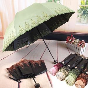 日傘 折りたたみ 折りたたみ傘 晴雨兼用 遮光 晴雨兼用 UV レディース おしゃれ プレゼント ギフト 日焼け防止 UVカット 花柄 ZK006|fkstyle