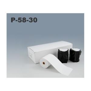 三栄電機 P-58-30 ロール紙10巻入 BL2-58専用 | 幅58mm×外径50mm×内径9mm|fksystem
