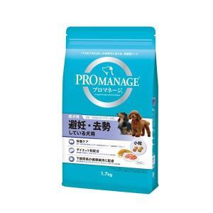 (まとめ)プロマネージ 成犬用 避妊・去勢している犬用 1.7kg (ペット用品・犬フード)〔×6セ...