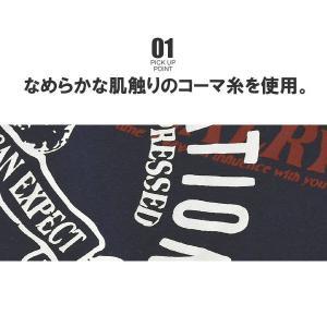 綿コーマ糸 Tシャツ メンズ 半袖 ミリタリー...の詳細画像3