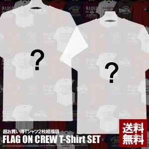 お一人様1セット限り Tシャツ2枚入り福袋 スリム半袖Tシャツ2点入 メンズ F1T【メ便2】