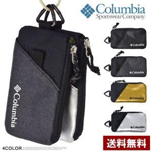 コロンビア Columbia スマートフォンケース 小物入れ 小さいサイフ メンズ レディース PU...