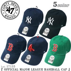 47BRAND 17135 47 CLEAN UP CAP ベースボール キャップ 47ブランド メジャーリーグ オフィシャル 帽子 Lot. 17135|flamingosapporo