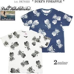 デューク カハナモク DK78222 半袖 Tシャツ
