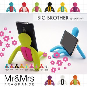【ポイント10倍】 イタリア発の全く新しいフレグラン携帯スタンド。BIG BROTHERは携帯・タブ...