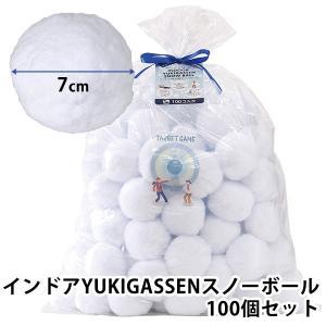 インドア YUKIGASSEN スノーボール 100個セット/スパイス(SPICE)/在庫有(9)|flaner-y