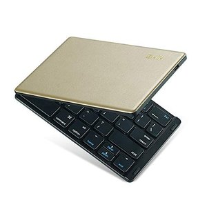Ewin 新型 キーボード bluetooth 折りたたみ ワイヤレス 小型 Bluetoothキー...