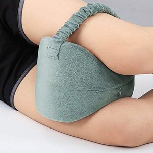 HALOViE 足枕 むくみ 膝枕 足まくら 低反発 足用クッション 健康枕 フットピロー 足膝背 ...
