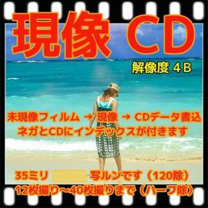 カラーフィルム現像+CD書込(4Bでデータ保存 )+Wネガインデックス 「写ルンですOK」|flash99