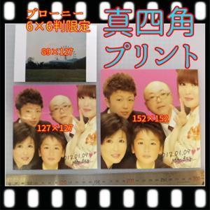 中判カメラ ブローニーフィルム現像+真四角152プリント+インデックス|flash99