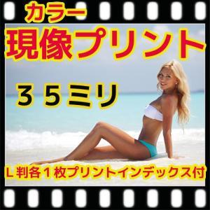 35ミリ フィルム現像+L判各1枚プリント+インデックス「写ルンですOK」|flash99