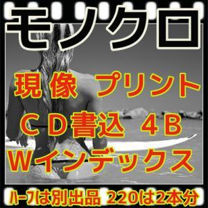 モノクロフィルム現像+プリントL版各1枚+CD書込(4B)最短2日|flash99