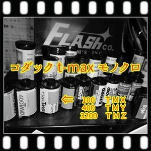 T-MAXハーフ・モノクロフィルム現像+プリントCD16B|flash99