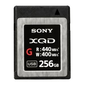 256GB XQDメモリーカード XQDカード SONY ソニー Gシリーズ R:440MB/s W:400MB/s 海外リテール QD-G256E/J ◆宅|flashmemory